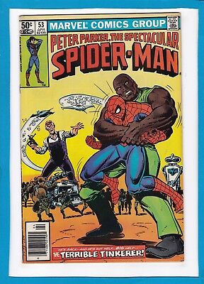 Peter Parker The Spectacular Spider-Man #53_April 1981_Very Good_Bronze Age!
