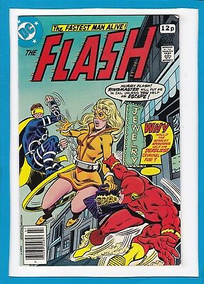 """The Flash #263_July 1978_Very Fine_""""the Ringmaster""""_Bronze Age Dc_Uk Variant!"""