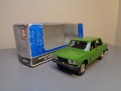 Russian Made Vintage Lada 1:43 Scale Made In Ussr Rare Item Mint In Box