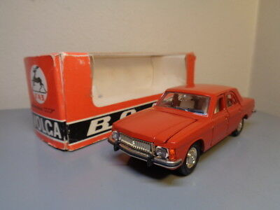 Russian Made Vintage Volga 1:43 Scale Made In Ussr Rare Item Mint In Box