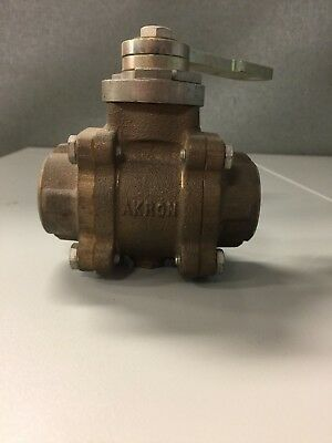 "1"" Brass Akron Swing-Out Valve"
