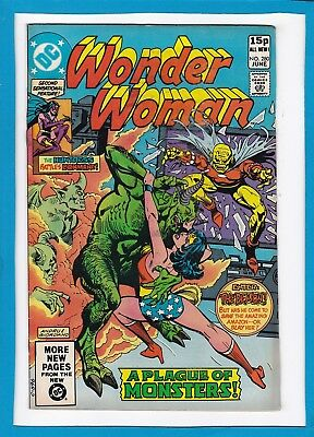 """Wonder Woman #280_June 1981_Vf Minus_""""in The Claws Of Demons""""_Bronze Age Dc_Uk!"""