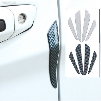 AA3B 4PCS Car Vehicle Door Protector Edge Protection Sticker Anti Collision Stri