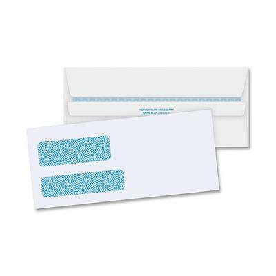 "Business Source Double Window Envelopes No. 9 3-7/8""x8-7/8"" 500/BX White 36681"
