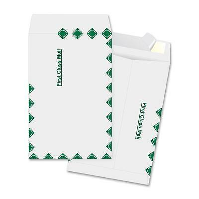 "Business Source Catalog Envelopes First Class 6""x9"" 100/BX White 65857"