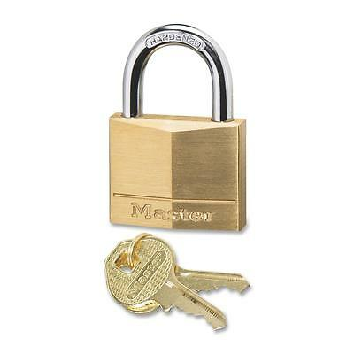 Master Lock Solid Padlock Corrosion Protection Brass 140D
