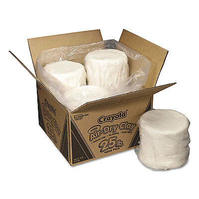 Crayola Air-Dry Clay White 25 lbs 575001