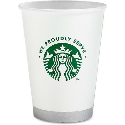Starbucks Compostable Cups Hot/Cold 12 oz. 1000/CT White 11032976