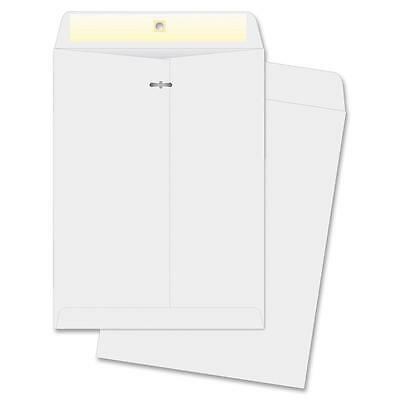 "Business Source Clasp Envelopes 9""x12"" 100/BX White 04422"