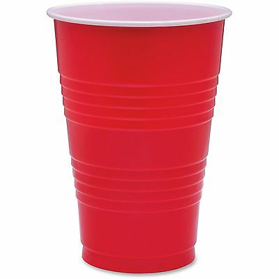 Genuine Joe Party Cups 16oz. 50PK Red 11251