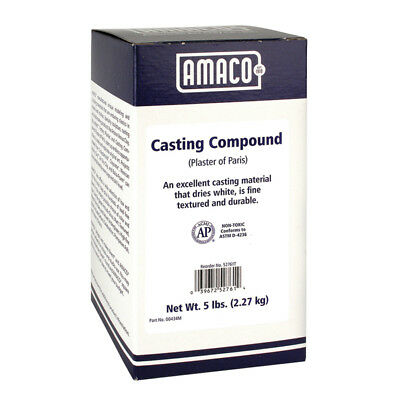 Amaco Plaster Of Paris 5 Lb. 52761T