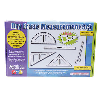 Learning Advantage Dry Erase Magnetic Measurement Set 7599