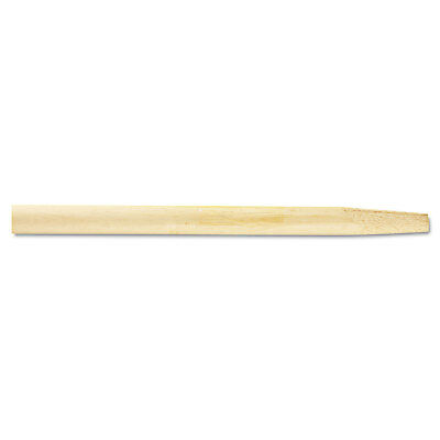 Boardwalk Tapered End Broom Handle Lacquered Hardwood 1 1/8 dia x 54 Natural 124