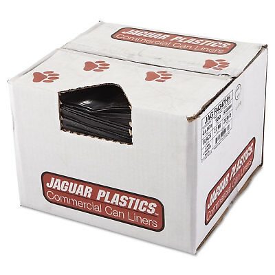 Jaguar Plastics Repro Low-Density Can Liners 2 Mil 43 x 47 Black 100/Carton