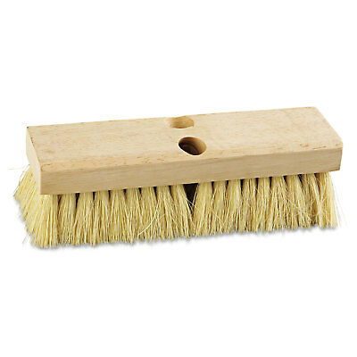 "Boardwalk Deck Brush Head 10"" Wide Tampico Bristles 3210"