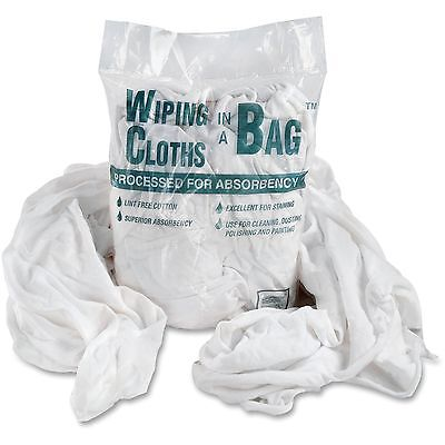 Office Snax Cotton Wiping Cloths Assorted Sizes 1 lb Bag WE/BE 00070