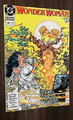 WONDER WOMAN #45 -- George Perez -- VF/NM Or Better