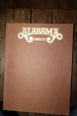 Vintage Alabama Band Complete Song Book Jeff Cook Teddy Gentry Randy Owen Rare