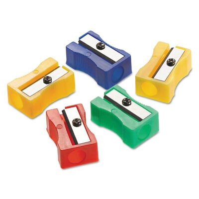 Westcott Manual Pencil Sharpeners Red/Blue/Green/Yellow 4w x 2d x 1h 24/Pack