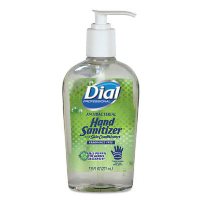Dial Professional Antibacterial Gel Hand Sanitizer with Moisturizer 7.5 oz Pump