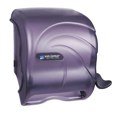 San Jamar Element Lever Roll Towel Dispenser Oceans Black 12 1/2 x 8 1/2 x 12 3