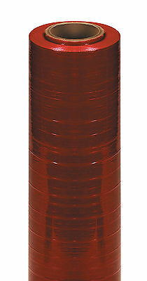 """Box Partners Cast Hand Stretch Film 18"""" x 80 Gauge x 1500' Red 4/Case SF188CRED"""