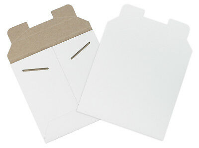 """Box Partners Flat Mailers 6"""" x 6"""" White 200/Case RM9"""