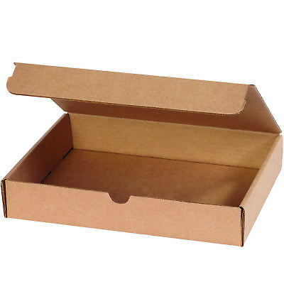"Box Partners Literature Mailers 11 1/8"" x 8 3/4"" x 2 5/16"" Kraft 50/Bundle"