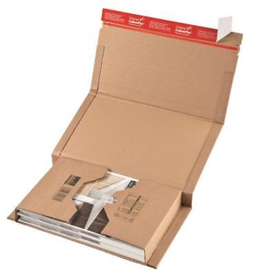 New ColomPac Book Wraps / Mailers CP 020.08 - 302 x 215 x 80mm - 150 Book Wraps