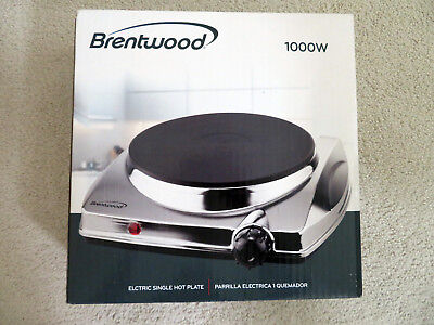 Brentwood Electric Single Burner Hot Plate TS-337 - NEW IN BOX