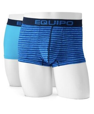 NWT Men's Equipo 2-Pack Performance Mesh Brazilian Trunk Underwear Large