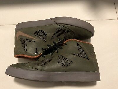 the latest eea6f 58a3a Nike Lebron X NSW Lifestyle Dark Loden Men s Basketball Shoes 604826-300  Size 12