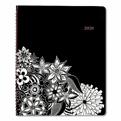 At-a-Glance Floradoodle Professional Weekly/Monthly Planner 9 3/8 x 11 3/8 2019