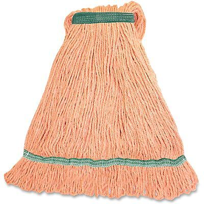 Genuine Joe Med Blend Narrow Band Wet Mop 12/CT Orange MOR1BCT