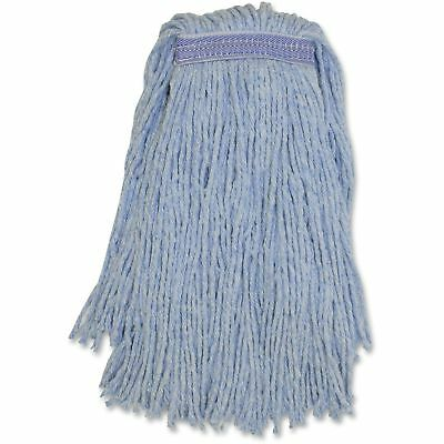 Genuine Joe Blended Colored Yarn Mop No.20 12EA/CT Blue N20B1BCT