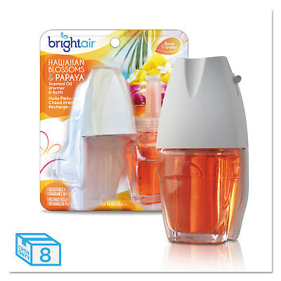 BRIGHT Air Electric Scented Oil Air Freshener Warmer/Refill Hawaiian Blossoms