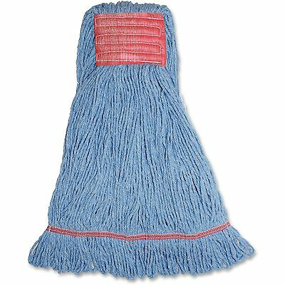 Genuine Joe Synthetic Lg Blend Wet Mop Wide Band Loop 21oz 12/C BE LBL5BCT