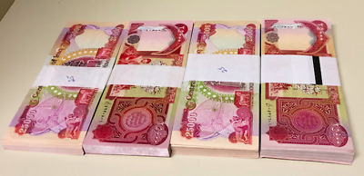 """One Million IRAQI DINAR 40 X 25,000 """"UNCIRCULATED NOTES"""""""