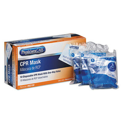 PhysiciansCare Emergency First Aid Disposable CPR Mask 92100