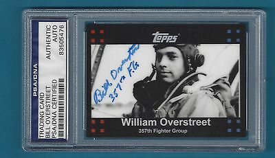 William Overstreet - 2008 Topps Trading Card # WO - PSA/DNA Certified - 83505476