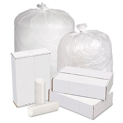 Pitt Plastics High Density Can Liners 20-30 gal 16 mic 30 x 37 Natural 250