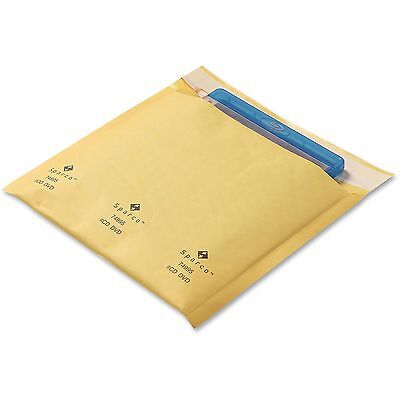 """Sparco Cushioned Bubble Mailer CD/DVD, 7-1/4""""x8"""", 1/PK, GD 74995"""