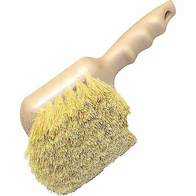 "Genuine Joe Tampico Utility Brush 8-1/2"" White 98217"