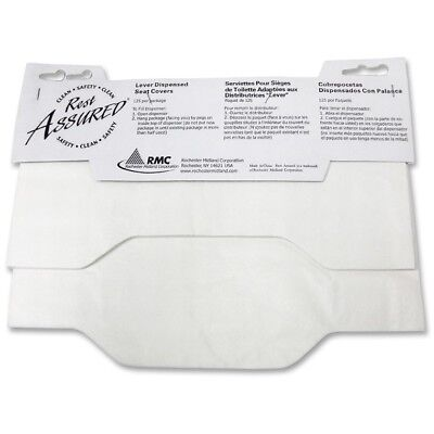 Impact Products Toilet Seat Covers Flushable 125/PK White 25188173