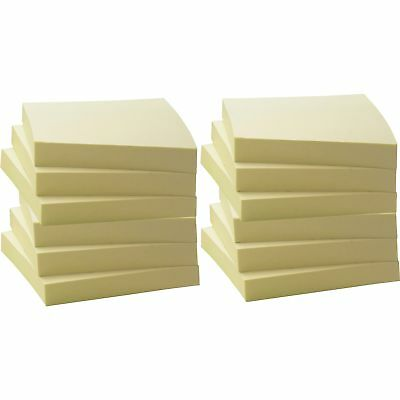 """MyOfficeInnovations Adhesive Notes Ruled 4/""""x6/"""" 100 Sh//PD 12//PK Yellow 3254399"""