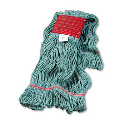 Boardwalk Super Loop Wet Mop Head Cotton/Synthetic Large Size Green 503GNEA