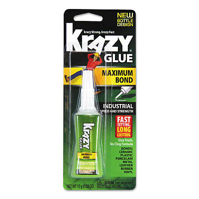 Maximum Bond Krazy Glue Clear 0.52 oz Tube KG48948MR