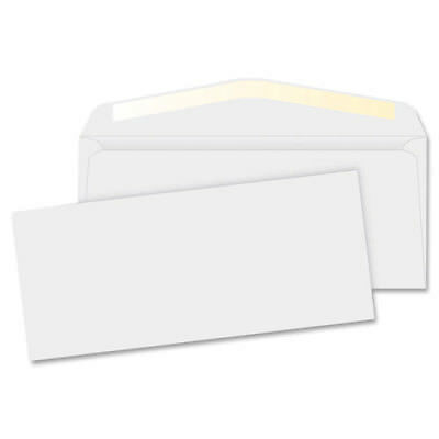 """MyOfficeInnovations Business Envelopes 24 lb. No. 10 4-1/8""""x9-1/2"""" 500/BX WE"""