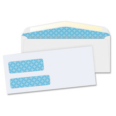 """MyOfficeInnovations Double Window Envelopes No. 9 3-7/8""""x8-7/8"""" 500/BX White"""