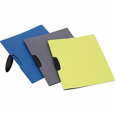 Oxford Report Cover Swing Clip Letter-Size 25/BX Assorted 78500
